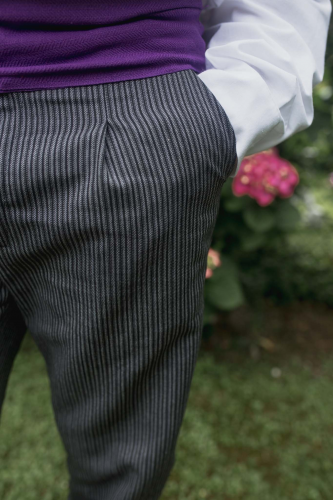 Pantalon milrayas c/ pinza adulto