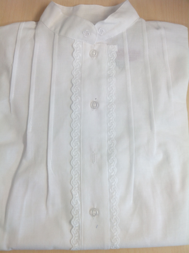Camisa Lauburu - blanca