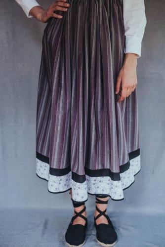 Falda Amaia - morada
