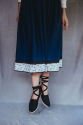 Falda Graxiana - azul
