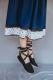 Falda Graxiana azul